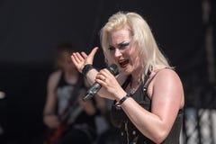 Bête de bataille chez Metalfest 2015 Photos stock