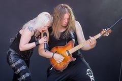 Bête de bataille chez Metalfest 2015 Images stock