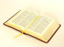 A Bíblia aberta Imagem de Stock Royalty Free