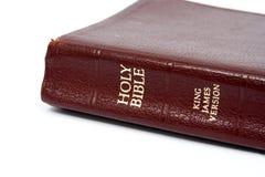 A Bíblia de couro Fotos de Stock Royalty Free