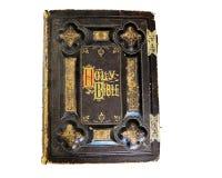 A Bíblia do vintage Imagens de Stock