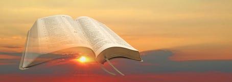 A Bíblia nova do alvorecer Imagens de Stock Royalty Free