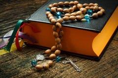 A Bíblia Sagrada fotografia de stock royalty free