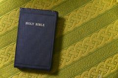 A Bíblia Sagrada, bom livro, palavra de deus, espaço da cópia Imagem de Stock