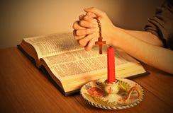 A Bíblia santamente Imagens de Stock Royalty Free