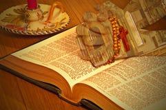 A Bíblia santamente Fotos de Stock