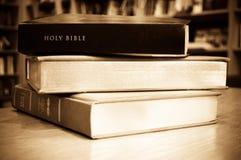 A Bíblia santamente Fotografia de Stock