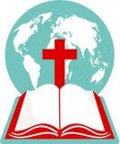 A Bíblia santamente ilustração stock