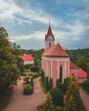 Bitov Castle is a cultural monument, Czech royalty free stock photography