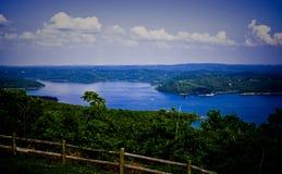 Bóbr jezioro Fotografia Royalty Free