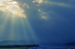 Bóg światło Obraz Royalty Free