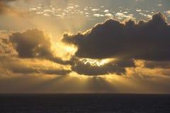 Bóg światło Fotografia Royalty Free
