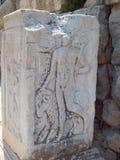 Bóg Hermes w Ephesus Turcja fotografia royalty free
