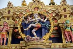 bóg hindus malował Zdjęcia Royalty Free