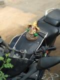 Bóg na rowerze obraz stock