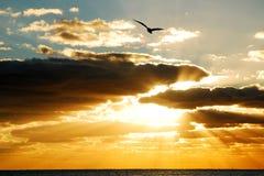 Bóg Zaświecają, bóg lot zdjęcie stock