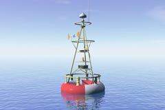 Bóia do porto Fotografia de Stock Royalty Free