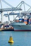Bóia do porto Imagens de Stock Royalty Free