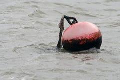 Bóia no mar Imagem de Stock Royalty Free