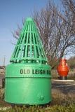 Bóia velha de Leigh, Leigh-em-Mar, Essex, Inglaterra Imagem de Stock Royalty Free