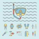 ból eog Kreskowe ikony ustawiać Wektorów znaki dla sieci grafika Obraz Royalty Free