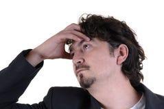 ból głowy. Fotografia Stock