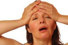 ból głowy. Fotografia Royalty Free