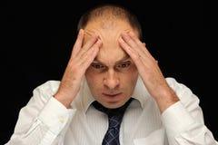 ból głowy. zdjęcia royalty free