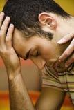 ból głowy. Obrazy Stock