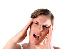 ból głowy Obraz Royalty Free
