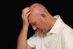 ból głowy. Obrazy Royalty Free