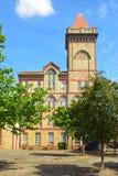 Ból mąki młynu Nutters młyn poprzedni budował w 1910 w gothic stylu Obraz Royalty Free