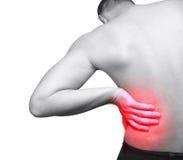 ból pleców Obrazy Stock
