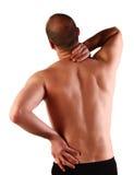 ból pleców Fotografia Stock