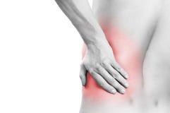 ból pleców Zdjęcia Stock