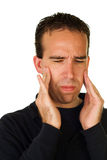 ból twarzy Obraz Stock