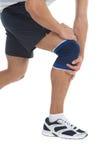 Ból w kolanie. Fotografia Stock