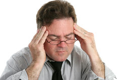 bóle głowy ból stark Obraz Royalty Free