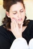 bólowa kobieta Obrazy Stock