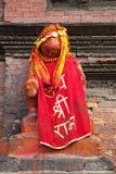bóstwa durbar hinduski Nepal patan kwadrat Obrazy Stock