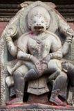 bóstwa durbar hinduski Nepal patan kwadrat Fotografia Stock