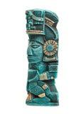 bóstwa odosobniona majska Mexico statua Obrazy Royalty Free