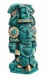bóstwa odosobniona majska Mexico statua Zdjęcie Stock