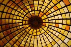 Bóveda amarilla Fotografía de archivo