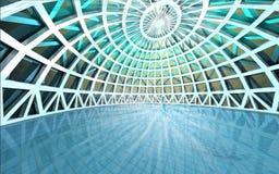 Bóveda arquitectónica espiritual asombrosa de la piscina