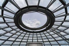 Bóveda de Berlín Reichstag imagenes de archivo