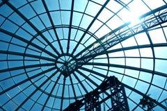 Bóveda de cristal. Imagen de archivo libre de regalías
