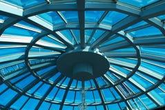 Bóveda de cristal Fotografía de archivo