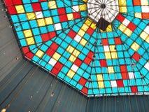 Bóveda de cristal colorida Imagen de archivo libre de regalías