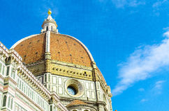 Bóveda de Florence Cathedral en Florencia fotos de archivo